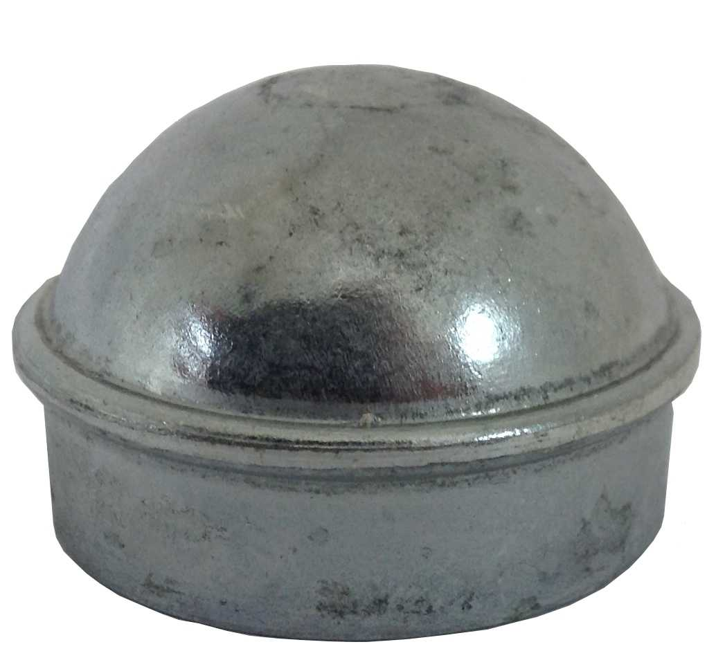 2-3/8' Chain Link Fence Post Cap - Use for 2-3/8' Outside Diameter Post/Pipe - Aluminum Chain Link Post Cap