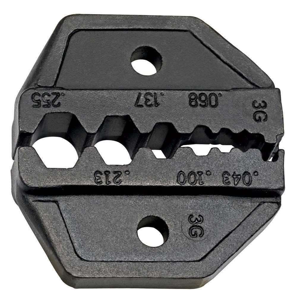 KLEIN TOOLS DIE SET FOR FIBER, RG58/59/62/174
